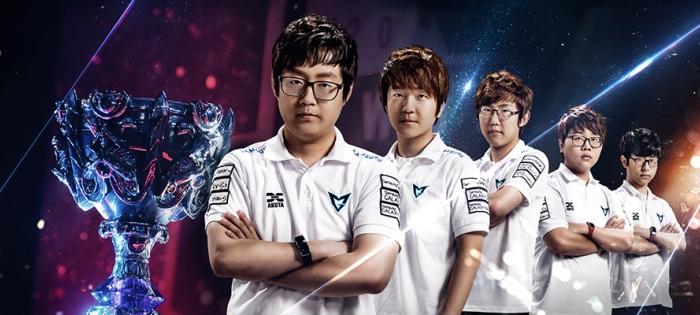 """Das Team """"Samsung Galaxy White"""", """"League of Legends""""-Weltmeister 2014 mit USD 1 Mio Preisgeld"""